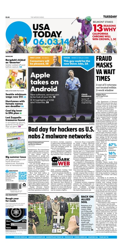 06/03/2014 Issue of USA TODAY