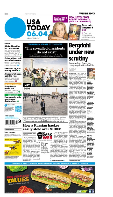 06/04/2014 Issue of USA TODAY