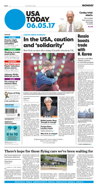 06/05/2017 Issue of USA TODAY