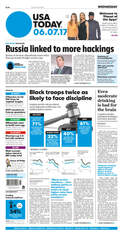 06/07/2017 Issue of USA TODAY MAIN