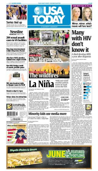 06/08/2011 Issue of USA TODAY