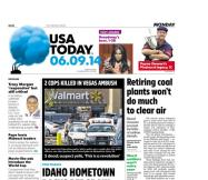 06/09/2014 Issue of USA TODAY