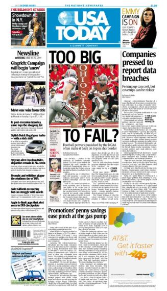 06/10/2011 Issue of USA TODAY