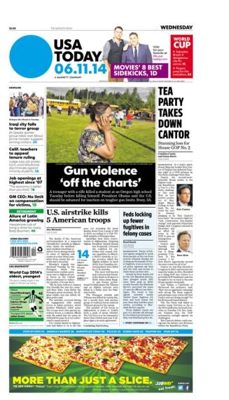 06/11/2014 Issue of USA TODAY