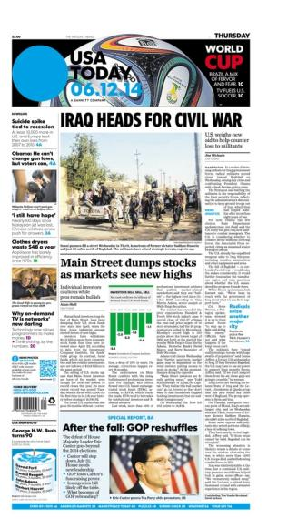 06/12/2014 Issue of USA TODAY