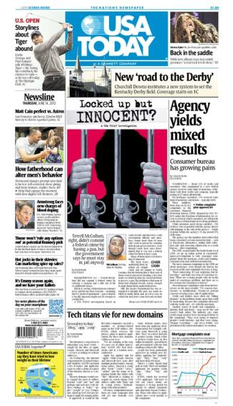 06/14/2012 Issue of USA TODAY