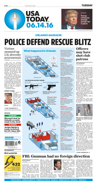 06/14/2016 Issue of USA TODAY