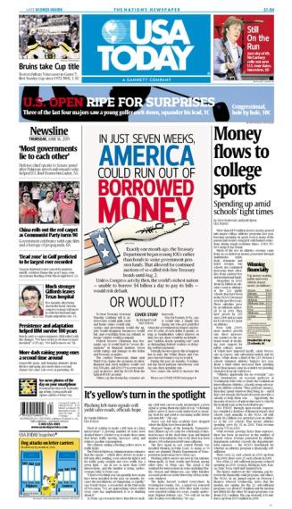 06/16/2011 Issue of USA TODAY
