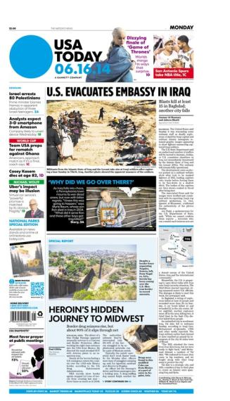 06/16/2014 Issue of USA TODAY