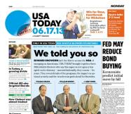 06/17/2013 Issue of USA TODAY