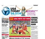 06/17/2014 Issue of USA TODAY