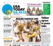 06/19/2013 Issue of USA TODAY