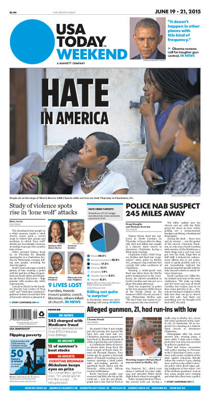 06/19/2015 Issue of USA TODAY