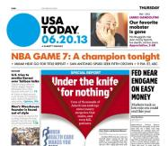 06/20/2013 Issue of USA TODAY