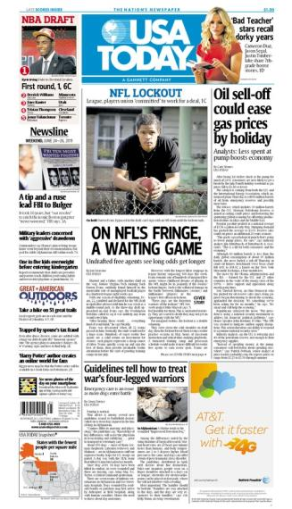 06/24/2011 Issue of USA TODAY