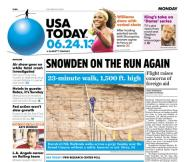 06/24/2013 Issue of USA TODAY