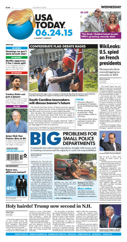 06/24/2015 Issue of USA TODAY