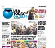06/25/2014 Issue of USA TODAY