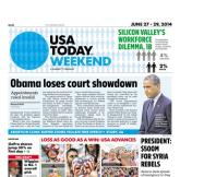 06/27/2014 Issue of USA TODAY