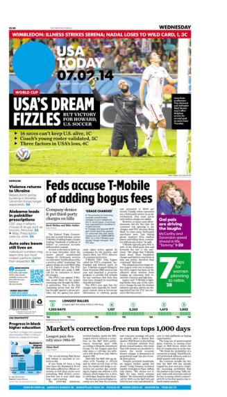 07/02/2014 Issue of USA TODAY