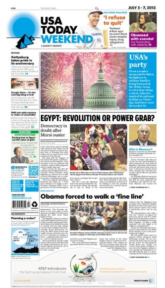 07/05/2013 Issue of USA TODAY