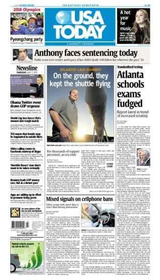 07/07/2011 Issue of USA TODAY