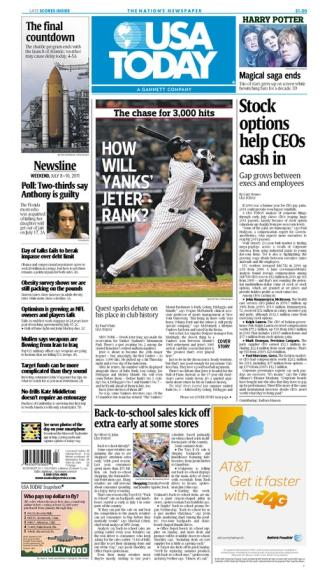 07/08/2011 Issue of USA TODAY