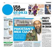 07/09/2013 Issue of USA TODAY