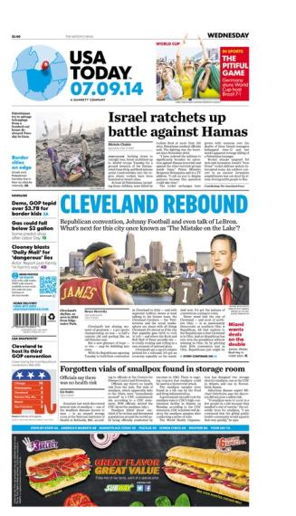 07/09/2014 Issue of USA TODAY