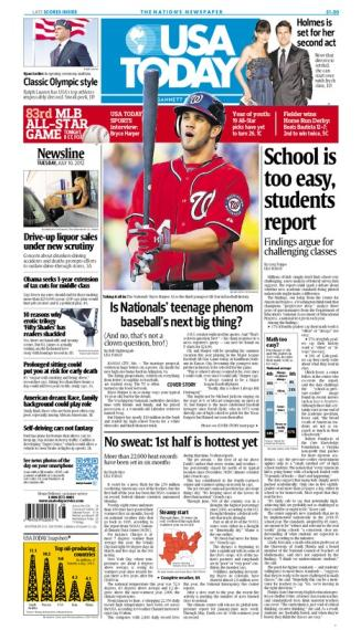 07/10/2012 Issue of USA TODAY