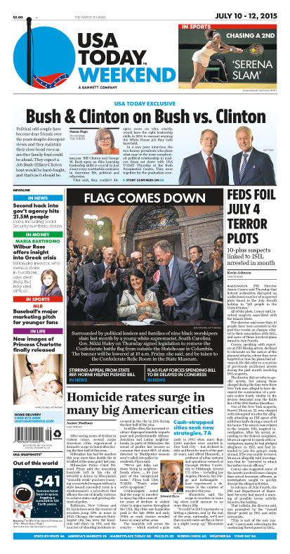 07/10/2015 Issue of USA TODAY