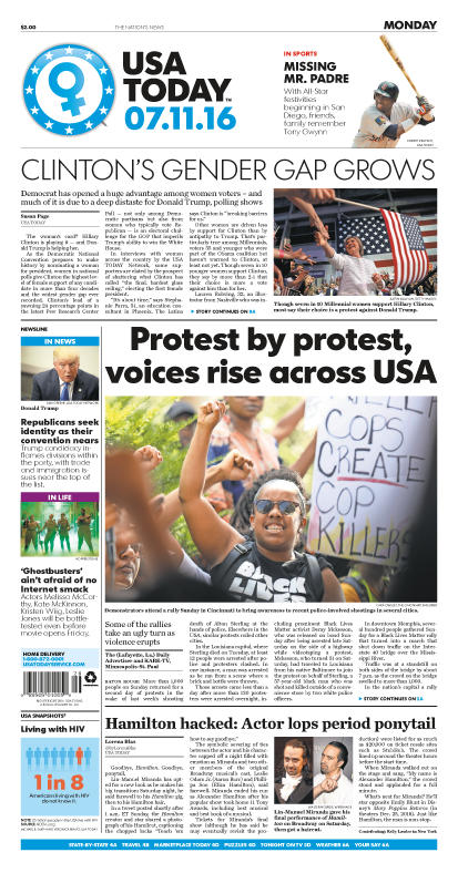 07/11/2016 Issue of USA TODAY