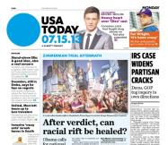 07/15/2013 Issue of USA TODAY