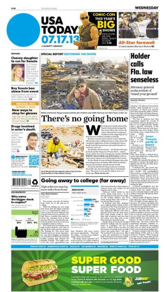 07/17/2013 Issue of USA TODAY