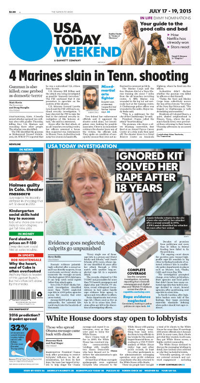 07/17/2015 Issue of USA TODAY
