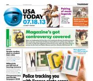 07/18/2013 Issue of USA TODAY