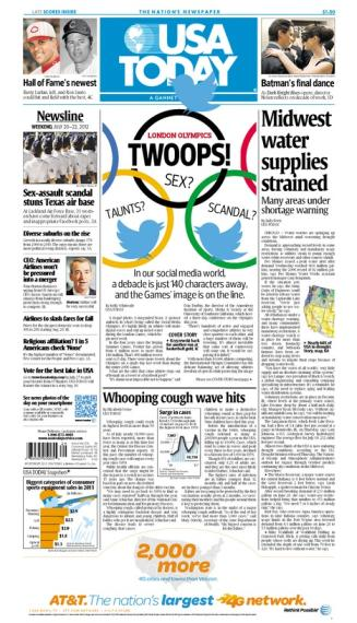 07/20/2012 Issue of USA TODAY