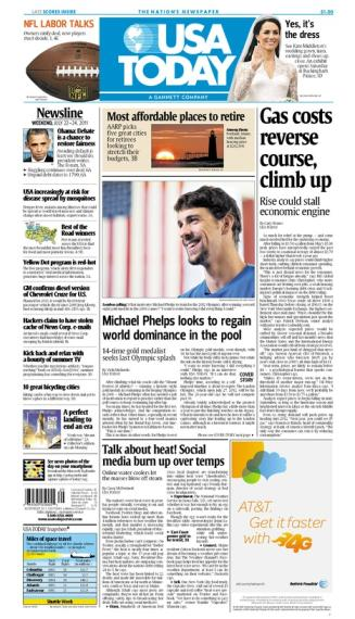 07/22/2011 Issue of USA TODAY