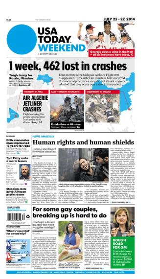07/25/2014 Issue of USA TODAY