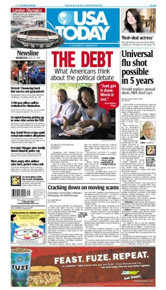 07/27/2011 Issue of USA TODAY