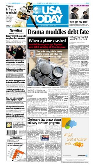 07/29/2011 Issue of USA TODAY