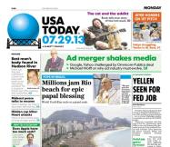07/29/2013 Issue of USA TODAY