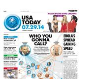 07/29/2014 Issue of USA TODAY