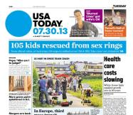 07/30/2013 Issue of USA TODAY