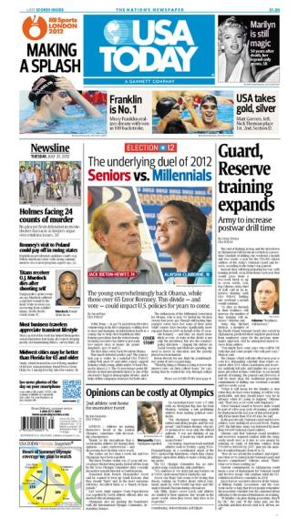 07/31/2012 Issue of USA TODAY