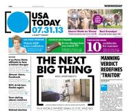 07/31/2013 Issue of USA TODAY