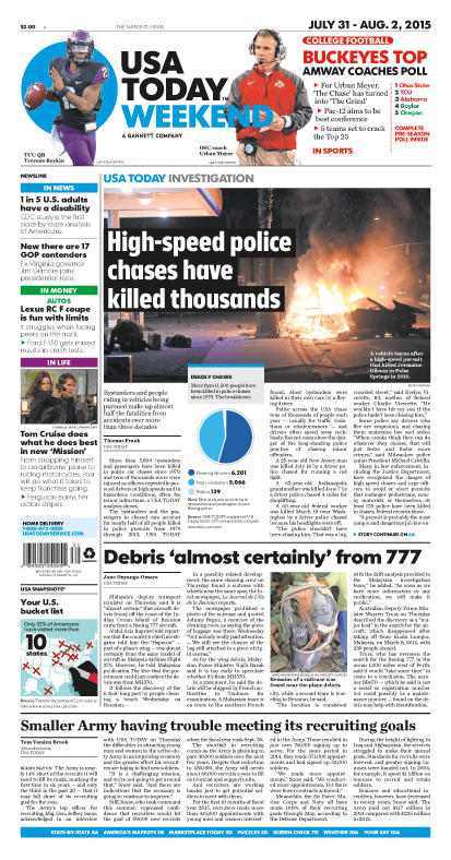 07/31/2015 Issue of USA TODAY