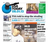 08/01/2013 Issue of USA TODAY