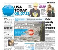 08/07/2013 Issue of USA TODAY