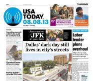 08/08/2013 Issue of USA TODAY